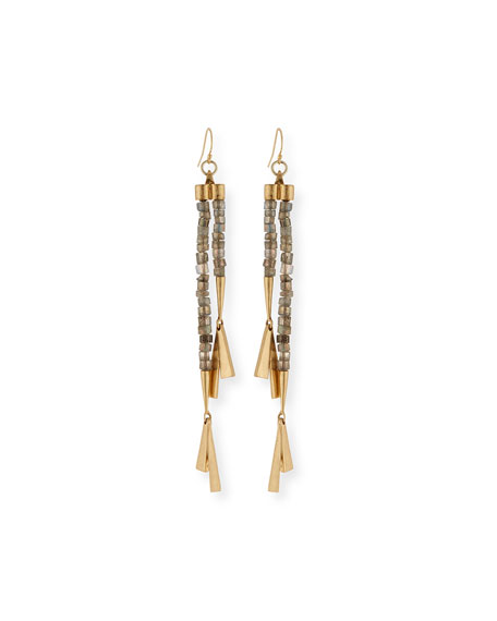 Lulu Frost Fontana Long Drop Earrings