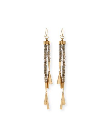 Fontana Long Drop Earrings