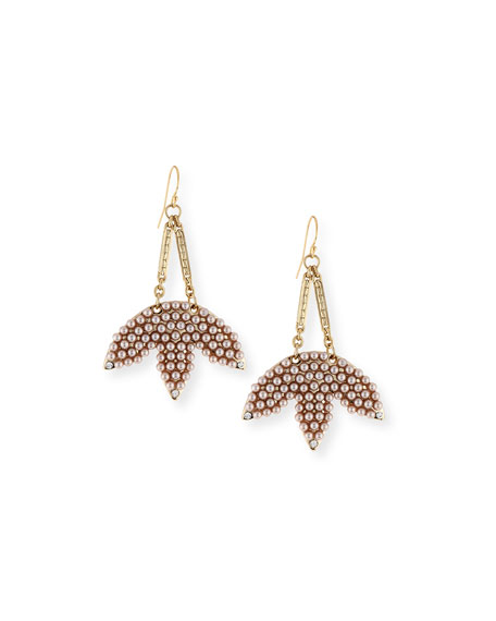Lulu Frost Tuileries Statement Drop Earrings