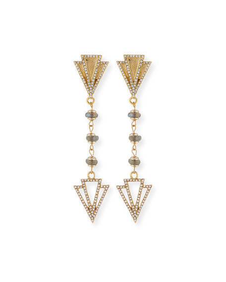 Lulu Frost Granada Crystal Drop Earrings