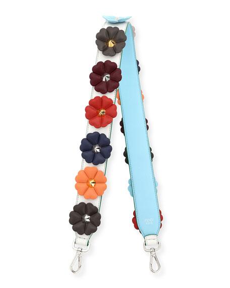 Fendi Strap You Flower Studded Shoulder Strap for