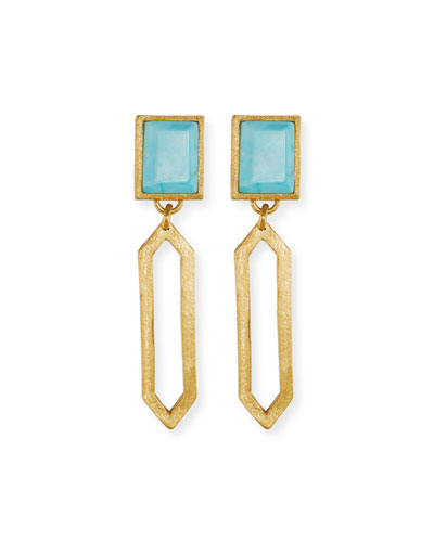 Piccola Turquoise Statement Earrings