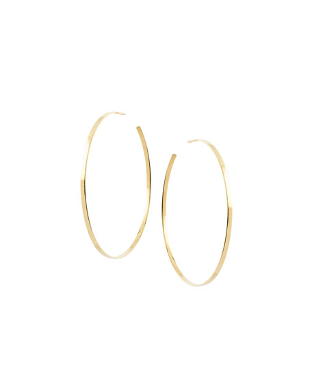 LANA Large Sunrise Hoop Earrings in 14K Gold