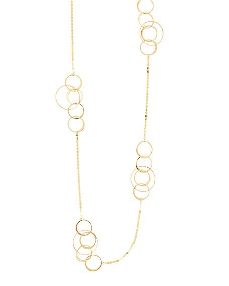 LANA Bond 14K Long Link Necklace, 36