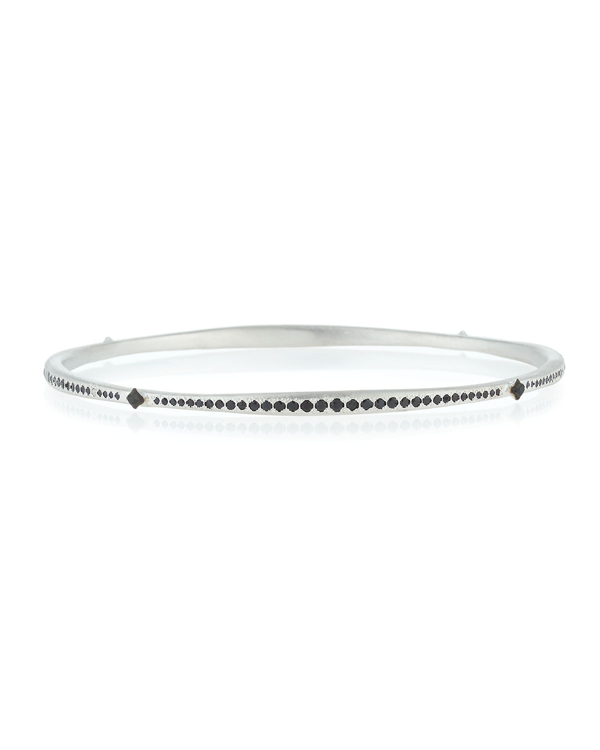 Armenta Crivelli Cross Diamond Bangle kg3jM