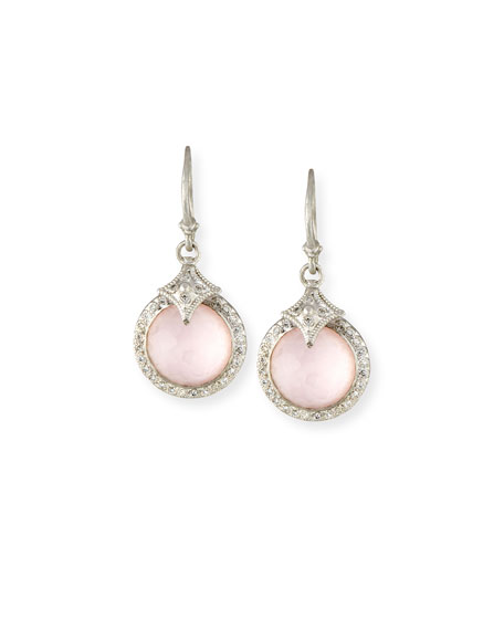 Armenta New World Rose Doublet Earrings with Diamonds