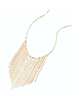 Lana 14k Long Fringe Necklace