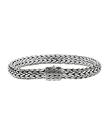 Small Classic Chain Bracelet with Chain Clasp