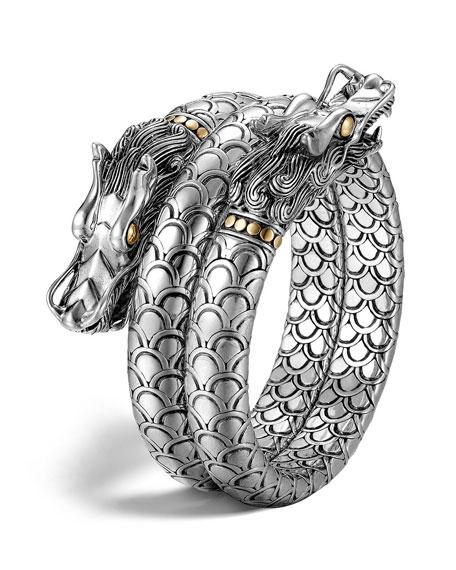 John Hardy Naga Gold & Silver Double Coil