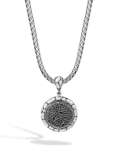 Kali Lava Fire Sapphire Pendant