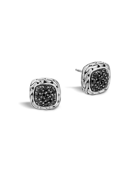 John Hardy Classic Chain Square Earrings