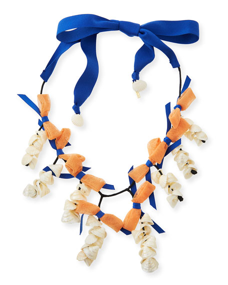 Lele Sadoughi Shell Collector Statement Necklace