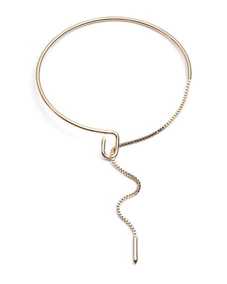 Eddie Borgo Allure Chain Collar Necklace