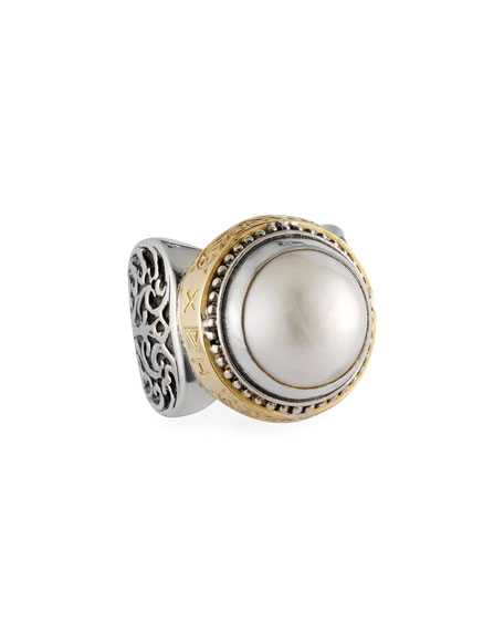 Konstantino Pearl Ring, Large