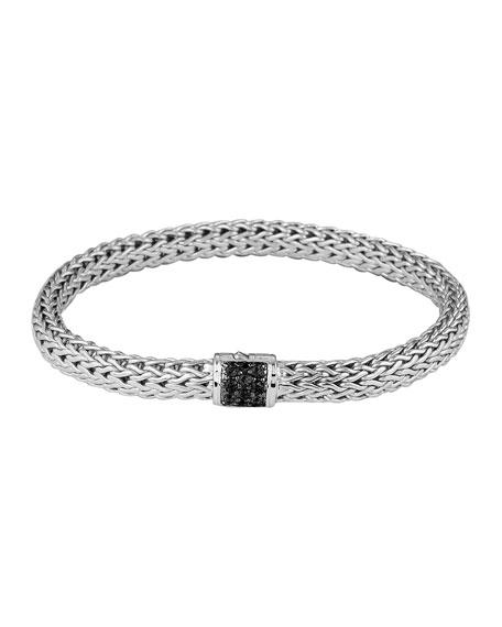 John Hardy Black Sapphire Classic Chain Bracelet, Small