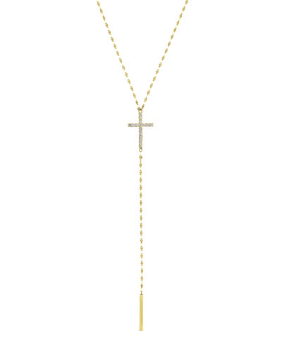Crossary 14K Yellow Gold Necklace with Diamonds