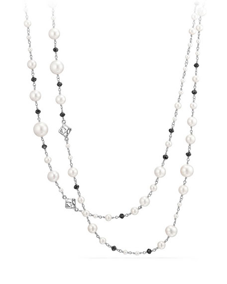 Oceanica Beaded Link Necklace, 62""