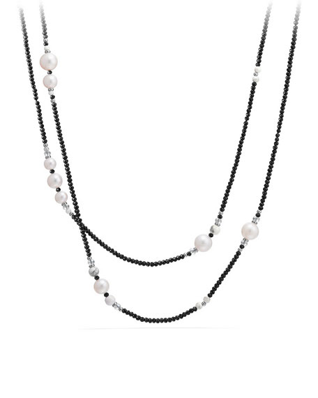 Oceanica Tweejoux Necklace with Pearls, 41""