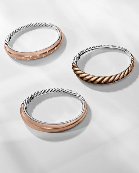 Pure Form Sterling Silver & Bronze Bracelet