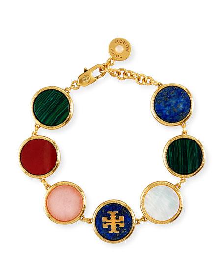 Multicolor Mother-of-Pearl Station Bracelet