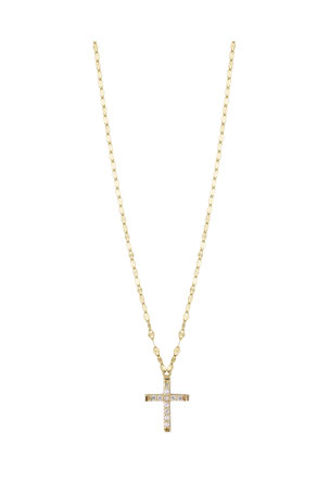 LANA GIRL BY LANA JEWELRY Girls' Diamond Cross Pendant Necklace