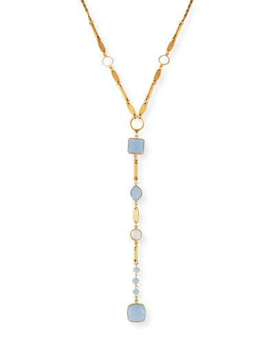 Monte-Carlo Statement Y-Drop Necklace