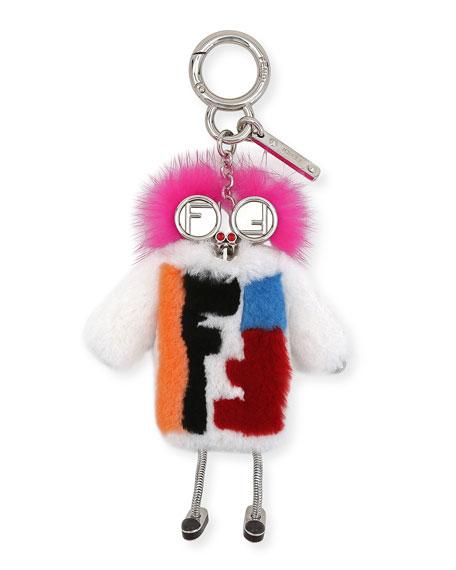 Teen Witch Mink/Rabbit Fur Charm for Handbag