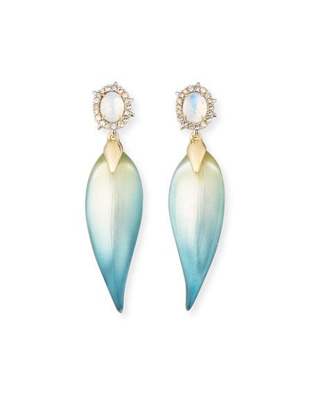 Alexis Bittar OMBRE FROSTED POST EARRING w