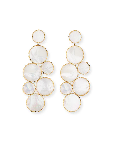 Lana Mega Ibiza Mother-of-Pearl Earrings