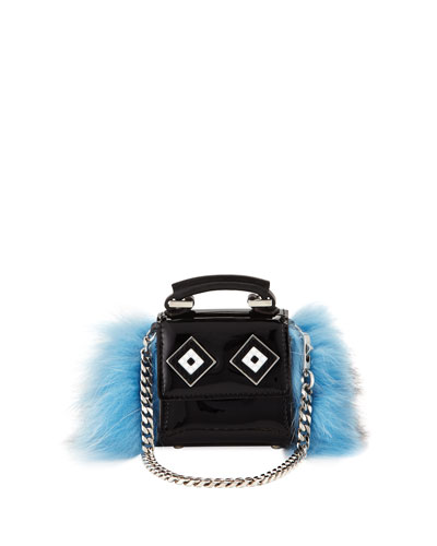 Nano Alex Eyes Fur Bag Charm