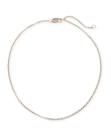 Konstantino Sterling Silver Petite Rolo Chain Necklace
