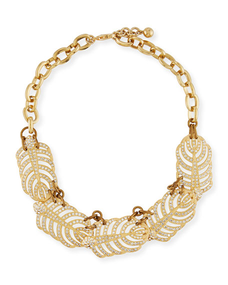 Lulu Frost Golden Drift Statement Necklace