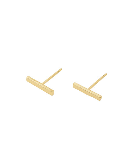 gorjana Taner Mini Bar Stud Earrings
