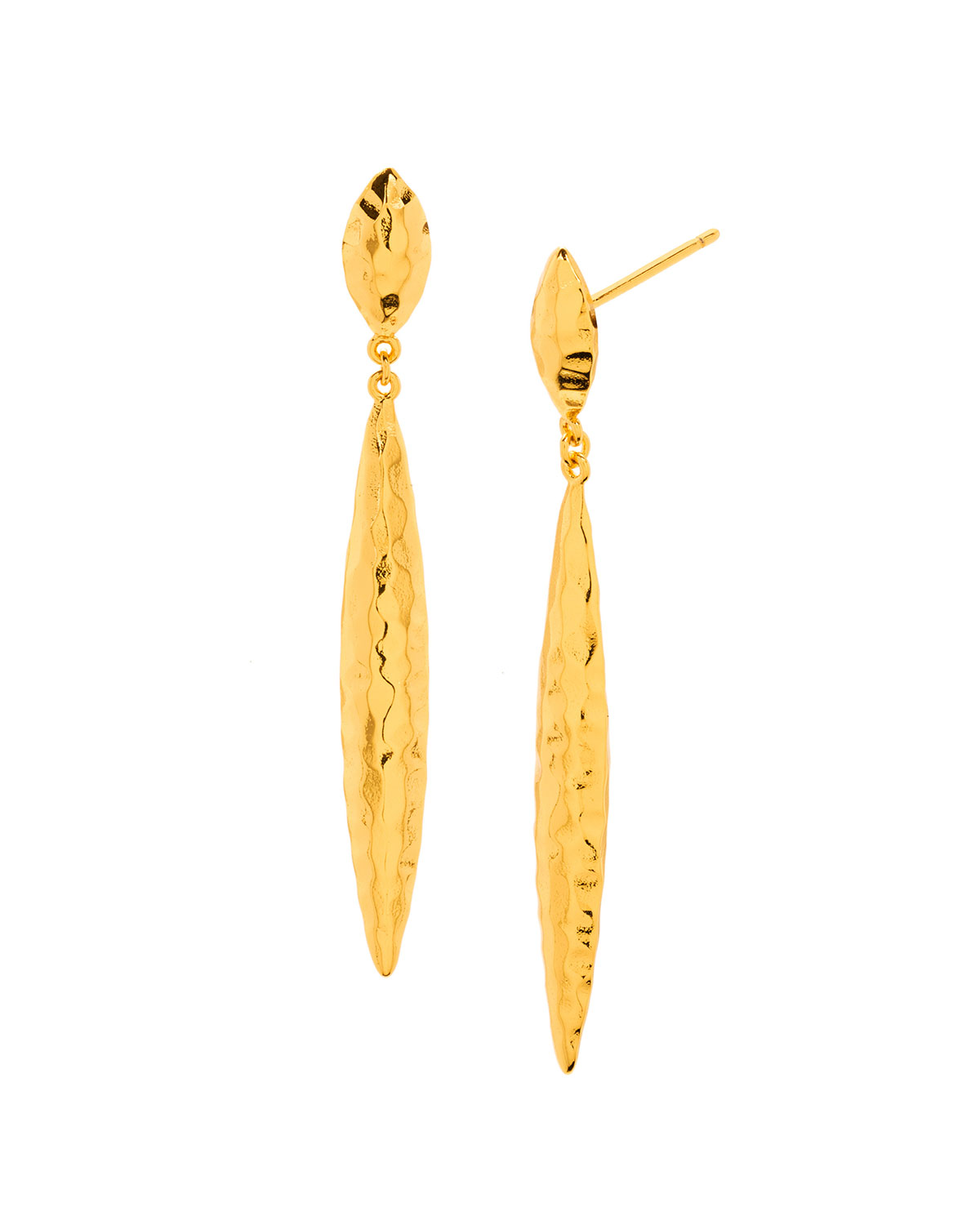 gorjana Nora Mid Drop Earrings, Gold