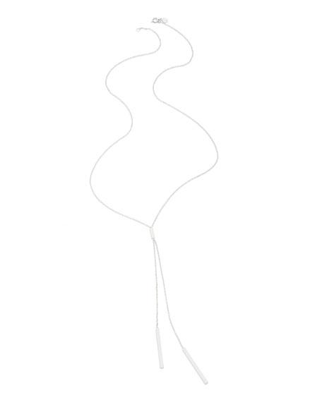 gorjana Mave Lariat Necklace, Silver-Plate