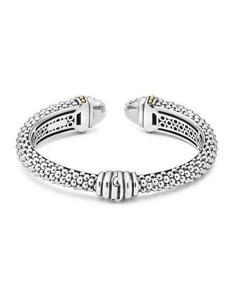 12mm Caviar Cuff Bracelet