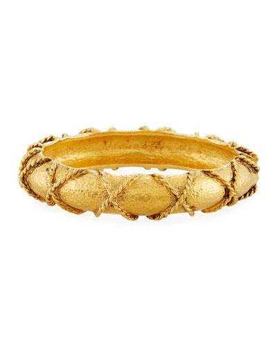 24 KARAT GOLD PLATE BRACELET
