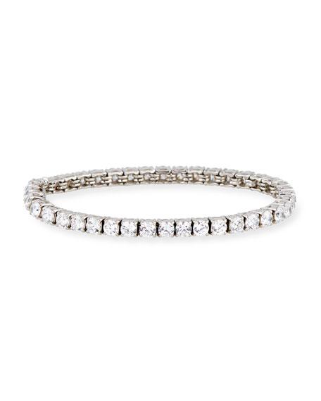 Fantasia by DeSerio CZ Crystal Tennis Bracelet