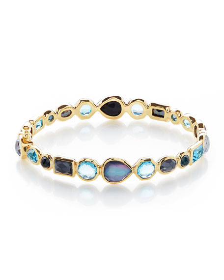 Ippolita 18K Rock Candy Mixed Hinge Bracelet in Pacific sxOWiYqoGB