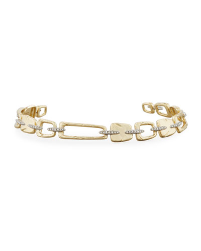 Abstract Buckle Link Bracelet