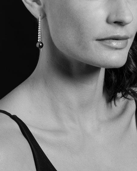 LAGOS Caviar & Pearl Wire Earrings
