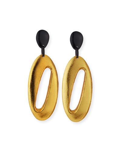Cutout Dangle Drop Earrings