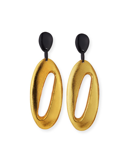 Cutout Dangle Drop Earrings