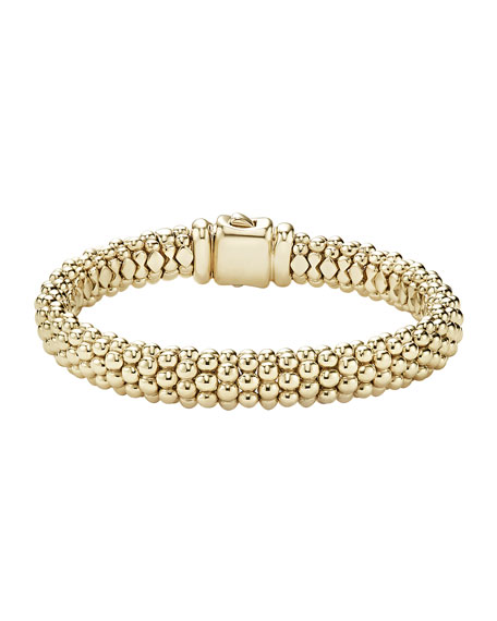 Lagos Medium 4mm Caviar Rope Bracelet