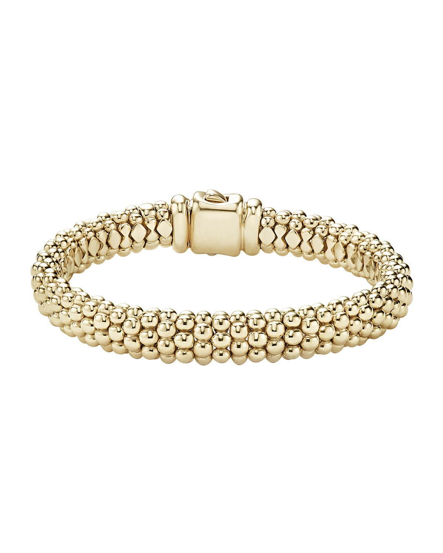 Lagos 18K Gold Bold Caviar Rope Bracelet Way4k