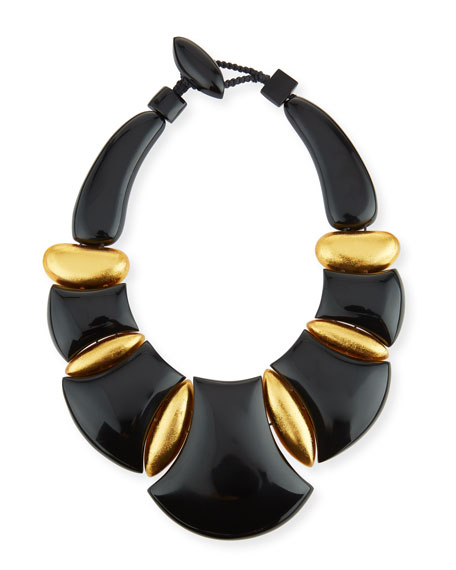 Viktoria Hayman Bellissima Resin Statement Necklace