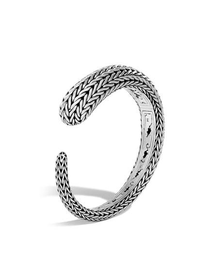 Classic Chain Silver Small Kick Cuff Bracelet