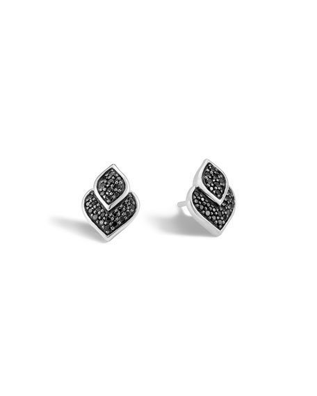 John Hardy Legends Naga Silver Stud Earrings with