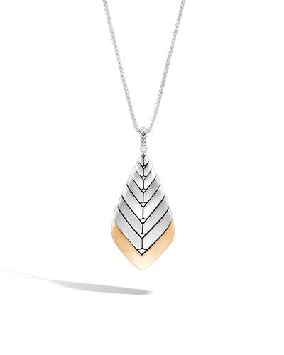Modern Chain Pendant Necklace, 36