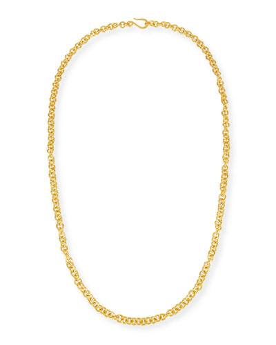 Hill Tribe Chain Necklace, 38